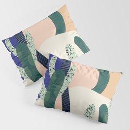 Cactus Blue Pillow Sham
