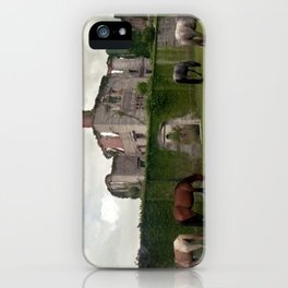 Cumberland Island - Feral Horses iPhone Case