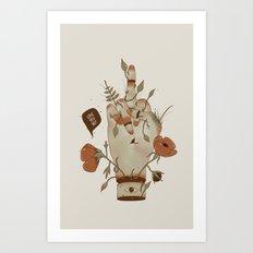 Love you but... Art Print