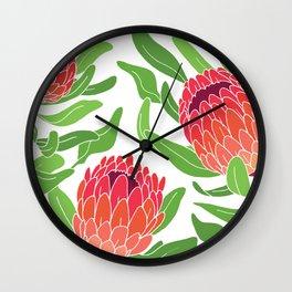 Protea Garden Wall Clock