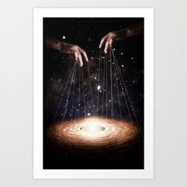 The Greatest Puppeteer Art Print
