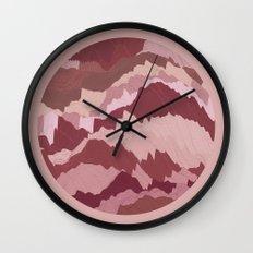 TOPOGRAPHY 007 Wall Clock