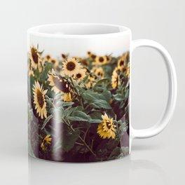 Sunflower field III Coffee Mug