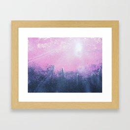 Overcast Glow Framed Art Print