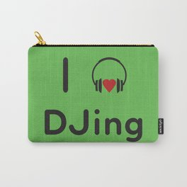 I heart DJing Carry-All Pouch