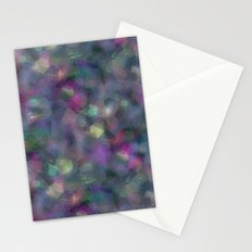 Dark holographic Stationery Cards