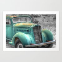car Art Prints featuring Car by Kent Moody