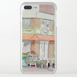 Pape & Bloor Toronto Clear iPhone Case