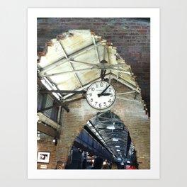 New York City Photograph 2-print (Chelsea Market) Art Print