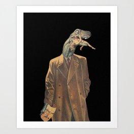 Reptilians Art Print