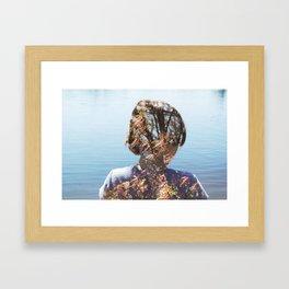 morph. Framed Art Print