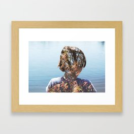morph. Framed Art Print