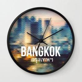 Bangkok - Cityscape Wall Clock