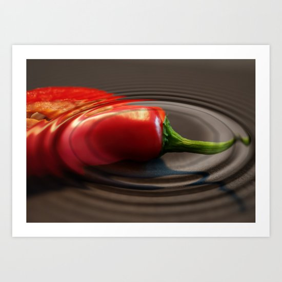 Red Chilli Art Print