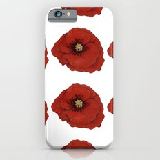 I Adore Poppies Slim Case iPhone 6s
