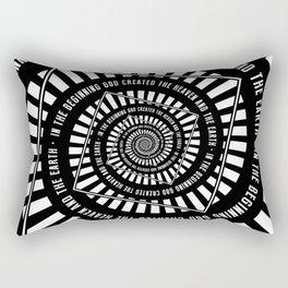 In The Beginning Rectangular Pillow