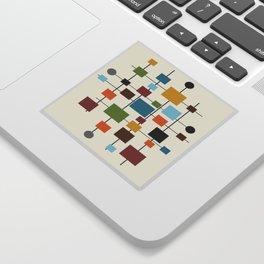 Mid-Century Modern Art 1.3 Sticker