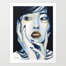 Close Up 1 Art Print
