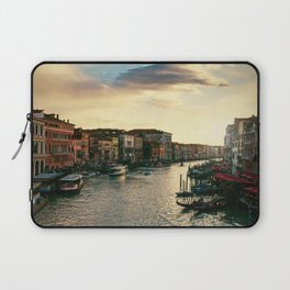 Venice on sunset Laptop Sleeve