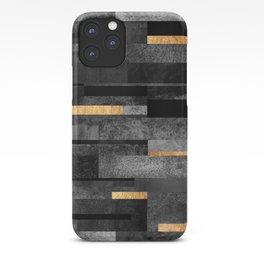 Urban Black & Gold iPhone Case
