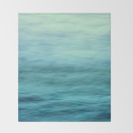 Ocean Blues Throw Blanket