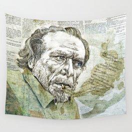 Charles Bukowski Wall Tapestry