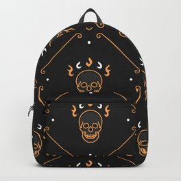 Halloween Seamless Pattern Backpack