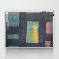 Light behind Black Laptop & iPad Skin