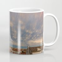 skyline Mugs featuring Skyline by Danto