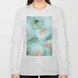 Tropic Palm #society6 #decor #buyart Long Sleeve T-shirt