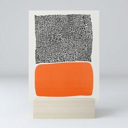 City Sunset Abstract Mini Art Print