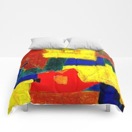 Equilibrium - Balance -Öl auf Leinwand Comforters