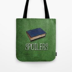 Doctor Who: Spoilers Tote Bag