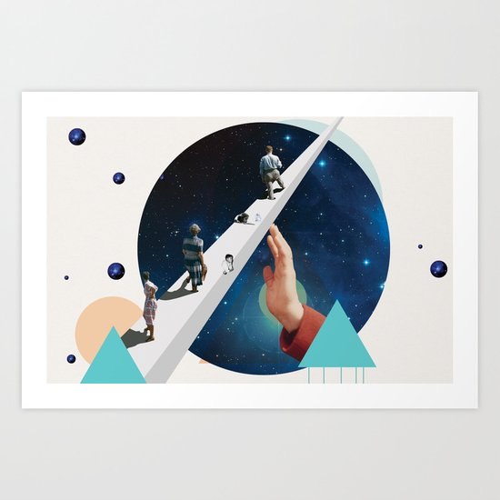 Time's Arrow Art Print