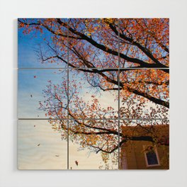 Sewickley PA in the Fall Wood Wall Art