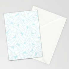 Leaves in Ice Stationery Cards