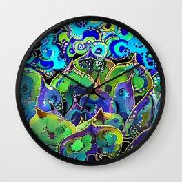 Echeveria Joy Wall Clock