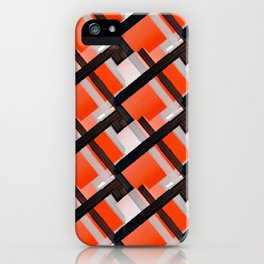 Fall Harvest Abstract iPhone Case