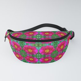 Simple peonies pattern Fanny Pack