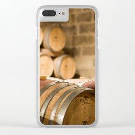 Valetta Barrels Clear iPhone Case