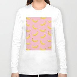Banana in pink Long Sleeve T-shirt