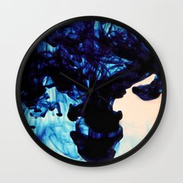 Blue Haze Wall Clock
