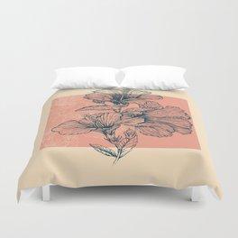 Hibiscus Colors Duvet Cover