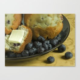 Blueberry Muffin  Canvas Print