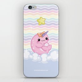 Baby Narwhal! iPhone Skin