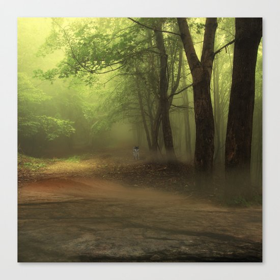 Mystical Forest (3) Canvas Print