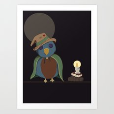 Wizard Bird Art Print