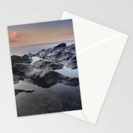 At Sunrise. Del Medio Beach. Canary islands Stationery Cards