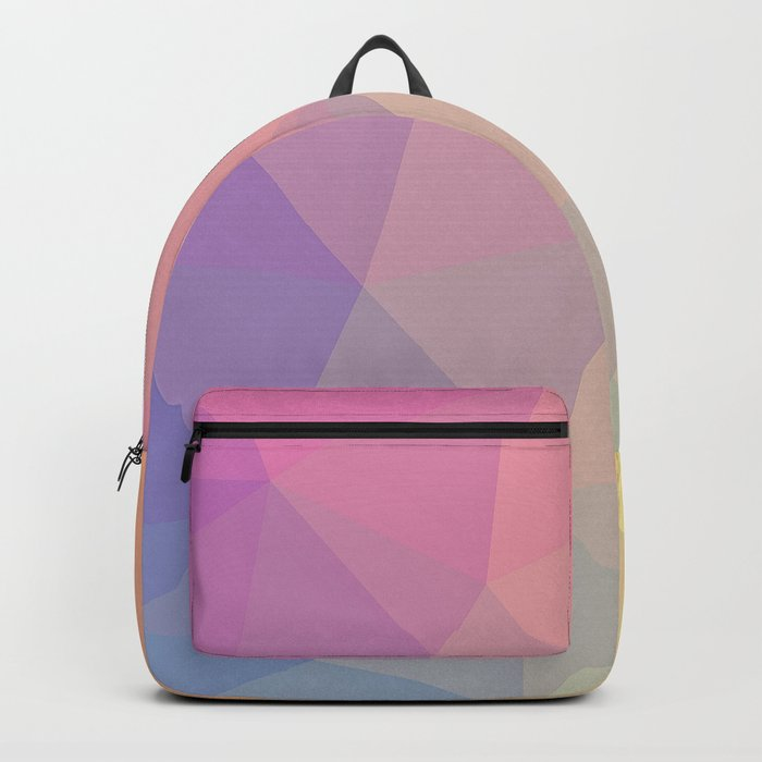 Abstract Polygons Backpack