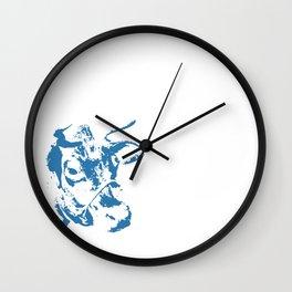 Follow the Blue Herd #154 Wall Clock